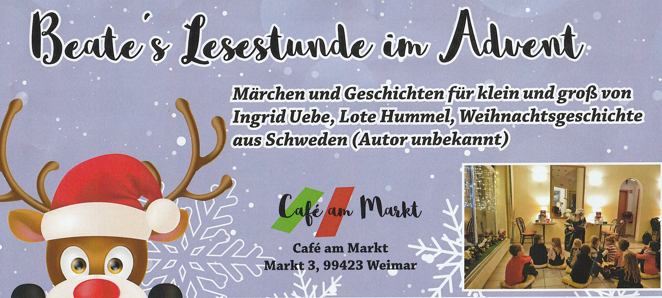 Beate´s Lesestunde im Advent 2019